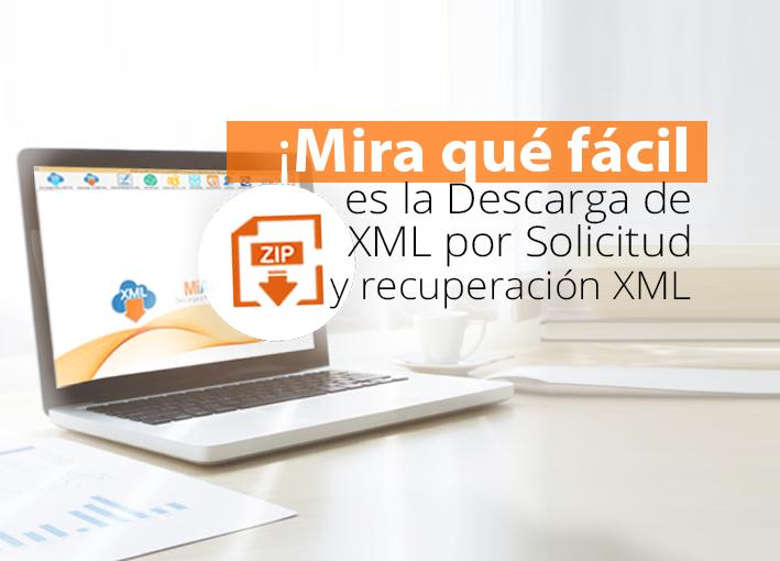 Descarga de XML por solicitud